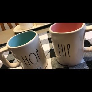 Rae Dunn Hip Hop Easter mug set